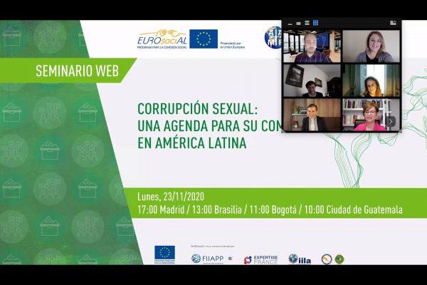 """Sextorsión: la PIA y la PROTEX participaron en el taller internacional """"Corrupción sexual: una agenda para su combate en América Latina"""""""